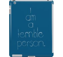 Just Being Honest iPad Case/Skin