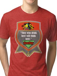 Beer Day Tri-blend T-Shirt