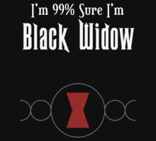 Im 99% Sure Im Black Widow by hboyce12
