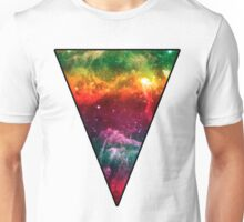 Rainbow Universe Triangle Unisex T-Shirt