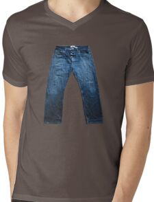 Jeans Mens V-Neck T-Shirt