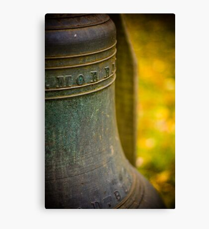 Old Bell Canvas Print