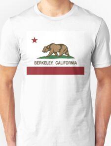 Berkeley California Republic Flag  T-Shirt