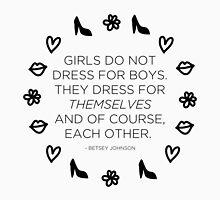 Girls Don't Dress for Boys by zarayow