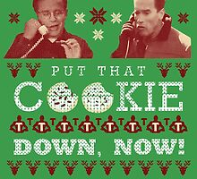 Put That Cookie Down, Now! Ugly Sweater Design by PEZRULEZ