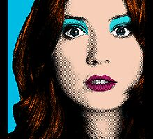 Amy Pond Pop Art (Doctor Who) by rachwho