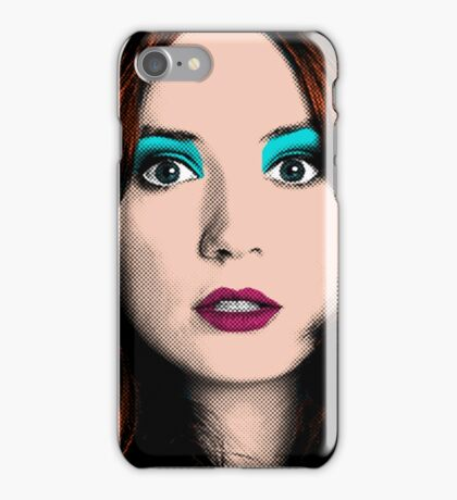 Amy Pond Pop Art (Doctor Who) iPhone Case/Skin