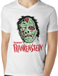 TEENAGE FRANKENSTEIN Mens V-Neck T-Shirt