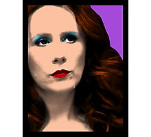 Donna Noble Pop Art Photographic Print