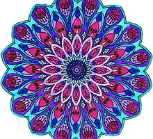 Mandala Cool Toned by kjiang11