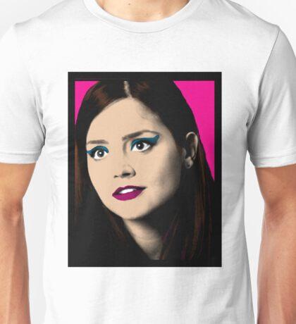 Clara Oswald Pop Art Unisex T-Shirt