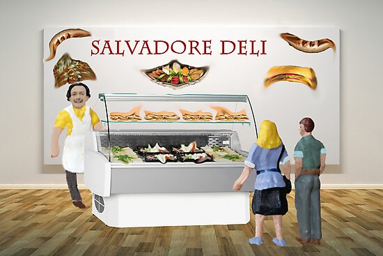 Gala and Ramon decide to have a surreal lunch at the deli. by Susan Littlefield