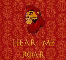 Game of Thrones + Disney: Mufasa/Lannister by MarcoMellark