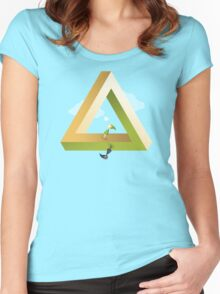 Hyrule Valley Women's Fitted Scoop T-Shirt