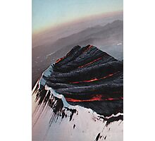 Fire & Ice Photographic Print