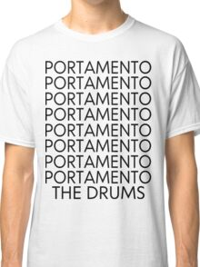 The Drums//Portamento  Classic T-Shirt