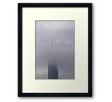 Empire State Clouds Framed Print