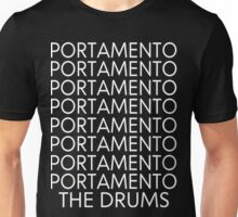 The Drums//Portamento ((Black)) Unisex T-Shirt