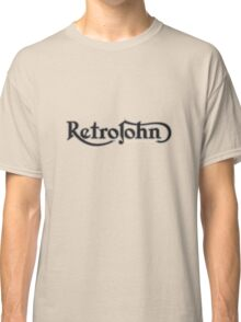 RetroJohn's classic retro logo Classic T-Shirt