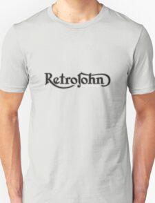 RetroJohn's classic retro logo T-Shirt