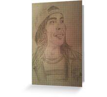 Vic Drawing Greeting Card