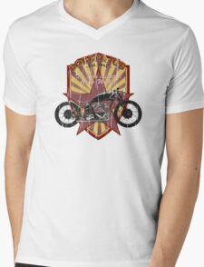 Bobber Job, motorcycle works Mens V-Neck T-Shirt