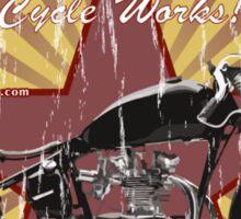 Bobber Job, motorcycle works Sticker
