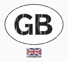 GB, Great Britain auto by retrojohn