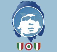 Napoli's Maradona by Khaled Alrawaf