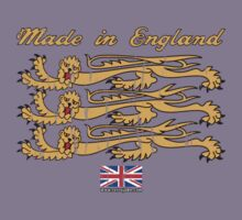 Made In England, with Regal Lions by retrojohn