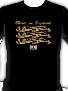 Made In England, with Regal Lions T-Shirt