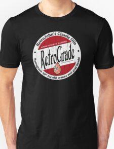 Retro Grade, classic motor oil T-Shirt