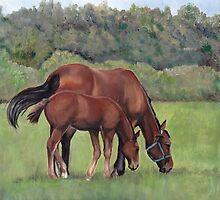 Grazing by Charlotte Yealey