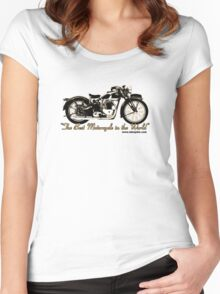 The Best Motorcycle in the World Women's Fitted Scoop T-Shirt