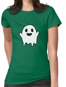 Lil Ghosty Womens Fitted T-Shirt