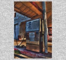 Abandoned Gas Pump  One Piece - Long Sleeve