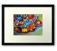 To brighten up the day Framed Print