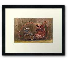 Baby Fight  Framed Print