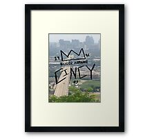 Cincinnati Made Framed Print