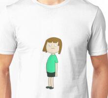 Girl in Green Unisex T-Shirt