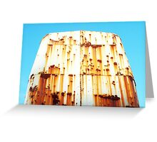 Rusty Crane Greeting Card