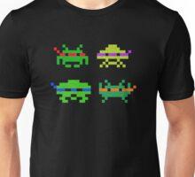 Super Space Ninja Invaders Unisex T-Shirt