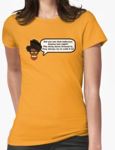 Moss: The Thing About Arsenal... Womens Fitted T-Shirt