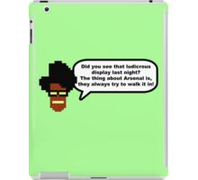 Moss: The Thing About Arsenal... iPad Case/Skin