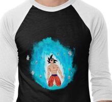Dragon Ball' Goku Fan Art Men's Baseball ¾ T-Shirt