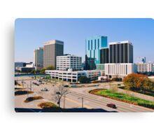 Downtown Norfolk, VA Skyline Canvas Print