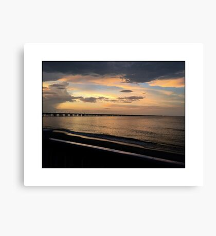 SERENITY AT THE BEACH Canvas Print