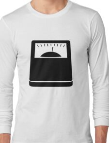 Weight Scales Long Sleeve T-Shirt