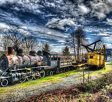 Ladysmith Steam Engine #11 by Trish  Hooker