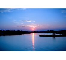 Parkers Creek Sunset Photographic Print